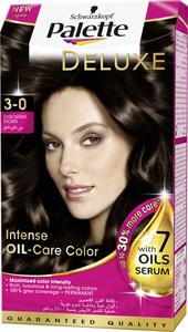 Palette Permanent Cream Hair Dye For Women Dark Warm Brown 3 0 50ml