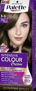 Palette Intense Hair Dye 5 0 Light Brown 50ml