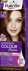 Palette Permanent Cream Hair Dye For Women Medium Chestnut 5 68 1pc