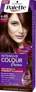 Palette Permanent Cream Hair Dye For Women Marsala Brown 6 80 50ml