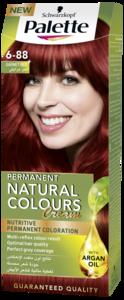Palette Permanent Natural Colours Cream 6.88 Garnet Red 1pc