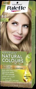 Palette Permanent Natural Colours Cream 8.0 Light Blonde 1pc