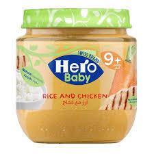Hero Baby Rice Chicken 120gm