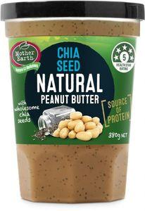 Mother E Pnut B Chia Seed 380g