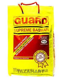 Guard Supreme Basmati Rice 5kg