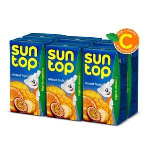 Suntop Mixed Fruit 6x125ml