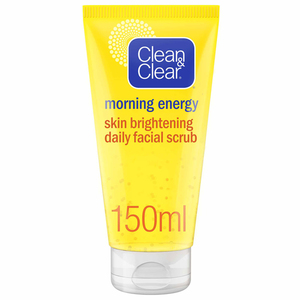 Clean & Clear Daily Face Scrub Morning Energy Skin Brightening 150ml