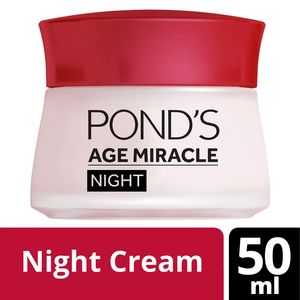Pond'S Age Miracle Night Cream Wrinkle Corrector 50ml