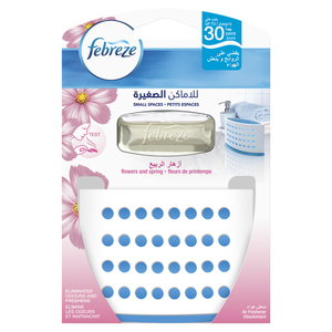 Febreze Small Spaces Flowers And Spring Air Freshener Starter Kit 1s