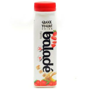 Balade Greek Yogurt Drink Strawberry Banana 225ml