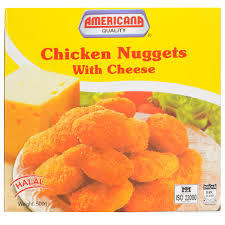 Americana Cheese Chicken Nuggets 400g