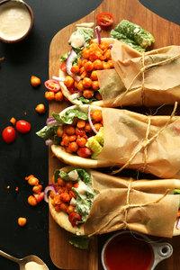 Mb Wrap Filafil&Chick Peas&Vegs 1pcs