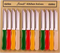 Fuxwell Fruit Knife 12s set