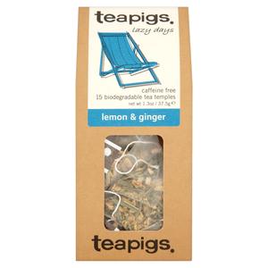 Teapigs Lemon & Ginger 15 Temples 15temples