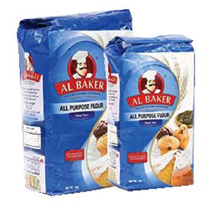 Al Baker Plain Flour 2kg+1kg