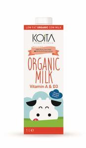 Koita Organic Low Fat Milk 1L