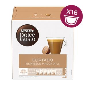 Nescafe Dolce Gusto Cortado (Espresso Macchiato) Coffee 16capsules