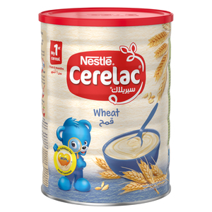 Nestle Cerelac Infant Cereals With Iron+ Wheat Tin From 6 Months 1kg