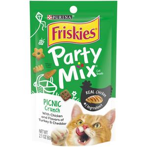 Purina Friskies Party Mix Cat Food Picnic 60g