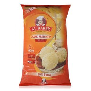 Al Baker Chakki Fresh Atta O/P 6kg