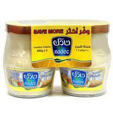 Nadec Cheddar Cheese 2x500g