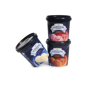London Dairy Ice Cream Cup Assorted 3x125ml