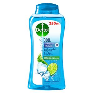 Dettol Cool Showergel & Bodywash Mint & Bergamot Fragrance 2x250ml