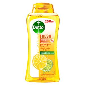 Dettol Fresh Showergel & Bodywash Citrus & Orange Blossom Fragrance 2x250ml