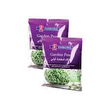 Emborg Green Peas 2x450g