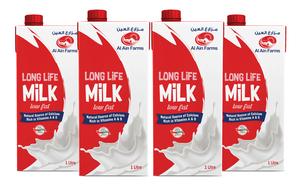 Al Ain UHT Low Fat Milk 4x1L