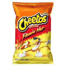 Cheetos Crunchy Flaming Hot 50g