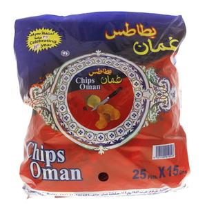 Oman Chips 25x15gm