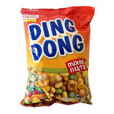 Ding Dong Supermix Nuts 4x100g
