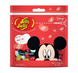 Jelly Belly Beans Mickey Mouse Pouch 80gm
