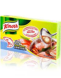 Knorr Fish Broth Cubes 60gm