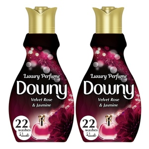 Downy Luxury Perfume Collection Concentrate Fabric Softener Feel Elegant 2x880ml
