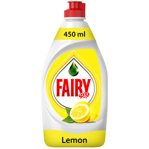 Fairy Lemon Dish Washing Liquid Soap 450ml