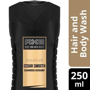 Axe Signature Body Wash For Men Cedar Smooth 250ml