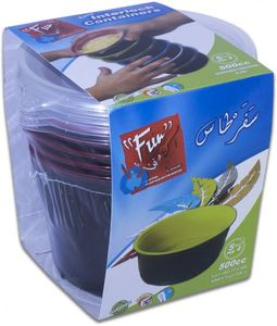Fun Disposable Food Storage Containers 5s