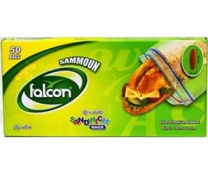 Falcon Samoon Sandwich Bag 25 X12 Cm 30s