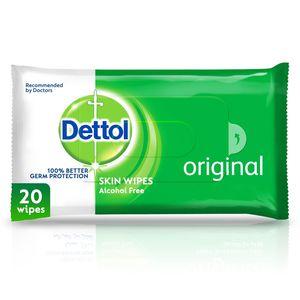 Dettol Original Antibacterial Skin Wipes 20s