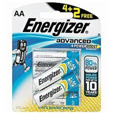 Energizer  X 91 Rp4+2(Aa) Battery 1pkt