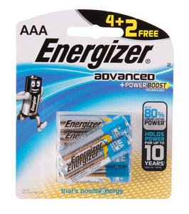 Energizer X92 Rp4+2(Aaa) Battery 1pkt