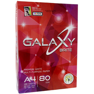 Galaxy 80 GSM A4 Photo Copy Paper 500s