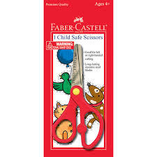 Faber Castel Child Safe Scissor 1pc