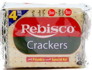 Rebisco Crackers Plain 350gm