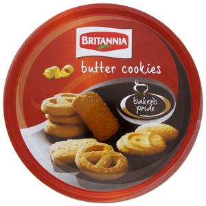 Britannia Butter Cookies Tin 400gm