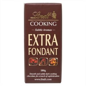 Lindt Cooking Chocolate Extra Foudant 180g