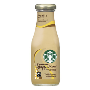 Starbucks Frappuccino Vanilla Flavour Lowfat Coffee Drink Bottle 250ml
