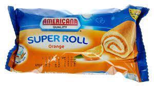 Americana Miniroll Orange 120g